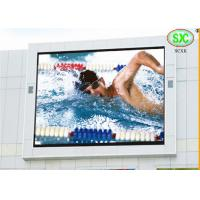 Quality p10 DIP full color  outdoor led display for all kinds of Stadium,road,buildings use for sale