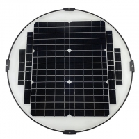 Quality Outdoor Integrated 30W MPPT Led Garden Post Lights Solar Powered for sale