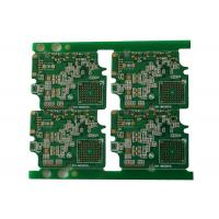 10 Layer FR4 PCB Board Fabrication , 3mil Line Space Width High TG PCB