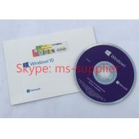 Quality French Language Windows 10 Professional OEM French DVD 64 Bit Version With COA Sticker for sale