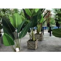 Quality Modern Artificial House Plants Living Room Faux Traveller Tree Plastic Potted for sale