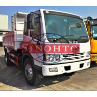 Quality Strengthened Lightweight Dump Trucks , 4x2 Driving Type 2 Axle Dump Truck for sale