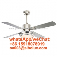 """Buy cheap 52 inch Industrial remote ceiling fan with LED light/cooling air circulation/52"""" from wholesalers"""