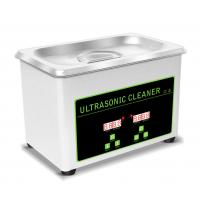 Buy cheap 0.8L Tank Portable Ultrasonic Cleaning Machine For Jewellery / Watch / Denture from wholesalers
