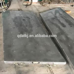 Quality Aluminum Alloy 7kw / ㎡ Heated Hydraulic Press , Almex Type Heated Platen Press for sale