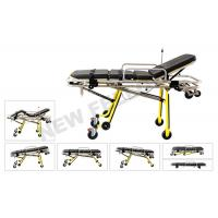 Quality Multifunctional Automatic Loading Aluminum Alloy Ambulance Stretcher For Rescue Patients for sale