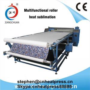 China Fabric Rotary Printing Machine / Roller Heat Press Machine / Roller Style Heat Transfer Machine on sale