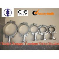 Quality Flange Metal Seal Stainless Steel Butterfly Valve , Triple Offset Butterfly Valves for sale
