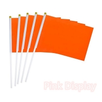 Quality Digital Colorful Polyester Hand Waving Flag For Sports for sale