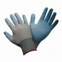 Quality Safety Nylon Nitrile Gloves, Palm-coated, Used for Delicate and Precise Assembly for sale