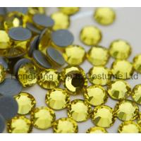 Buy china supplier rhienstones hot fix,stronger glue hot fix rhinestones for high heel,ss20 ho at wholesale prices