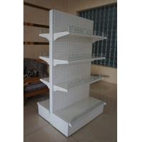 Quality Double Sided Supermarket Display Racks System , Metal Store Shelving for sale