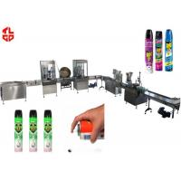 Best Precision Automatic Aerosol Filling Machine for Mosquito Aerosol Can 800-1100cans/hour wholesale