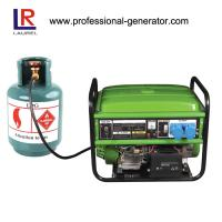Quality 6.0 kw Natural Gas Electricity Generator LPG Transistorized Magneto Ignition for sale