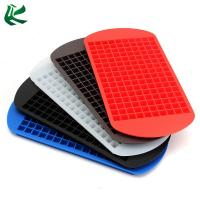 China Food Grade Silicone 160 Grids Small Ice Maker Tiny Ice Cube Tray for Kitchen Bar Party on sale