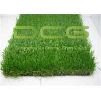 Quality C Shape Realistic Artificial Grass Turf 12000 Dtex For Home Area Decoration And Outside for sale