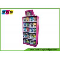 Eye Catching FSDU Product Display Stands , Toys Cardboard Display Racks With LCD Screen FL160