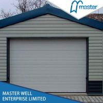 Quality Tilt Up Lifting Overhead Garage Doors Steel Sheet With Aluminum Alloy Frame for sale