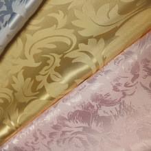 Quality pure silk jacquard fabric/ brocade pure silk fabrics for sale