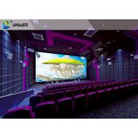 SV Cinema 3D Sound Vibration Movie Theater Seats With Special Effect Machine