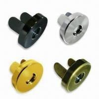 Quality Magnetic Buttons, Customized Designs are Accepted, OEM and ODM Orders are Welcome for sale