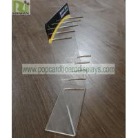 Buy cheap Practical Acrylic Retail Display Stands Smoke Oil Display Suit For Different from wholesalers