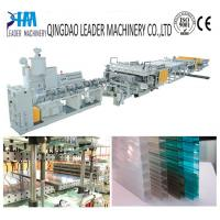 Quality multiwall polycarbonate hollow sheet extrusion line for sale
