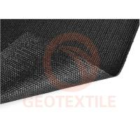 Quality Black Yarns Geotextile Stabilization Fabric For Sediment Control 3.85M Width for sale
