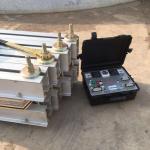 Quality ZLJ - 1400 220V / 380V Conveyor Belt Vulcanizing Machine Rubber Tile Vulcanizing Press for sale