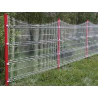 Quality Zinc Welded Curved Wire Mesh Fence With Vinyl Coated Stainless Steel for sale