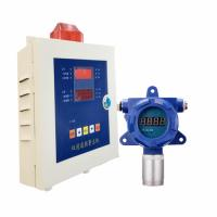 China Blue Color Exhaust Gas Detector SO2 Fixed Monitor IP65 Protection With Controller on sale
