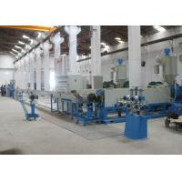 High Potency Cable Extrusion Line Double Head Co Extrusion Sheath Cable Coated Unit