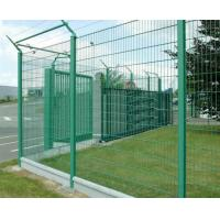 Quality PVC Coated Welded Wire Mesh Fence , Yellow Electro Galvanized Fence Netting for sale