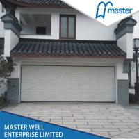 Quality Manual Automatic Garage Doors With 2 Transmitters 220V 60HZ Motor for sale