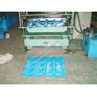 Quality Color Coated Roof Tile Roll Forming Machine for sale