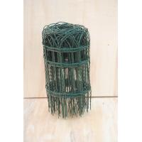 Quality Plastic Decorative Garden Border Fencing , Electro Aviary Wire Mesh for sale