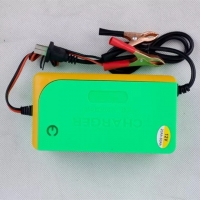 Quality Home Car  Universal 3 Stage 12v 6a Intelligent Battery Charger for sale