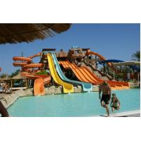 Best Children Fiberglass Water Slides Combination Water Slide For Holiday Resort wholesale