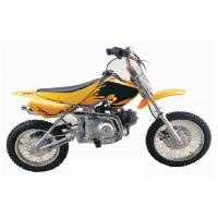 Quality Off Road Street Legal Motorcycles , 110cc Off Road Motorcycle Bikes Front Disc Rear Drum for sale