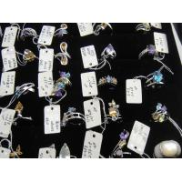 China Wholesale 925 Sterling Silver Natural Gemstone Semi-Precious Stone Ring Jewelry 39pcs on sale