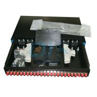 Quality 24 Ports Rack Mount Fiber Optic Odf 19 FC Slidable Type For TIC Certification for sale