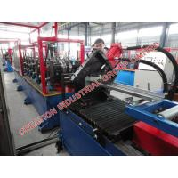 Quality Steel Window / Door Frame Roll Forming Machine With Mitsubishi PLC Controller for sale