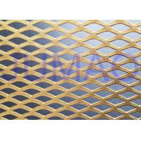 Quality Functional Facade Treatment Architectural Expanded Metal Mesh Striking Cladding for sale