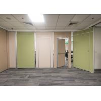 Quality Fashion Design Movable Partition Wall High 58db Soundproof Eco - Friendly for sale