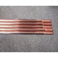 China Threaded And Pointed electrical ground rod / house grounding rod on sale