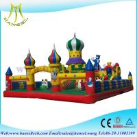 China Hansel  inflatable slip and slide for commercial for children on sale