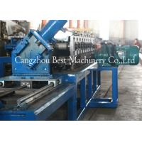 Buy cheap Drywall Metal U Track Frame Roll Foring Machine 3KW 2 Years Warranty from wholesalers