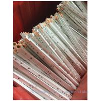 Quality Abs Wheel Ball Bearing Drawer Runners0.9mm-1.2mm Thickness After Painting for sale