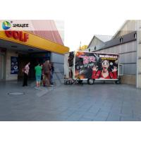 Quality Mobile 7D Movie Theater For Trailer Convenient In Shopping Mall Gate for sale