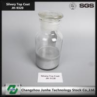 Quality Self Dry Silver Top Coat Zinc Flake Coating 2 Adhesion Increase Surface Hardness for sale